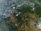 Amazzonia fiamme