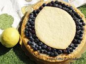Crostata Vegana Crema Limone Mirtilli