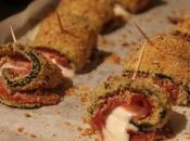 Forno Estivo Rotolini zucchini, prosciutto Scamorza Courgette, Parma Cheese Skewers
