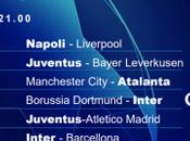 Champions torna Mediaset