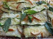 Parmigiana zucchine crudo