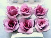 Tutorial Rose cartone delle uova RICICLO!