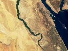 L'acqua esce satelliti