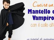 Come cucire mantello vampiro collo alto Halloween