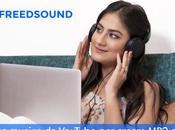 Freedsound scarica musica YouTube creare