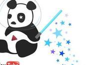 Cosmic Panda: nuova grafica YouTube