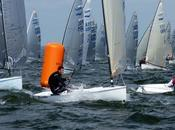 Finn Europeans, Helsinki Andrew Mills leads after double