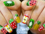 Must summer 2011: fruits nail