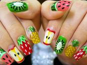 Must summer 2011: fruits nail