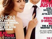 Mila Kunis Justin Timberlake Elle Magazine