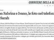 Corriere pubblicano foto private cellulare Sarah Scazzi