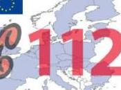 numero emergenza europeo