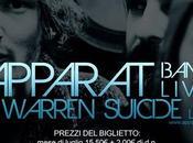 Apparat Band LIVE Warren Suicide Live, Settembre Padova