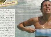 Amalfi Elisabetta Canalis sguazza cavalloni: ragazza milioni