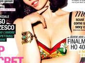 Violante Placido cover girl Glamour Italia Agosto 2011
