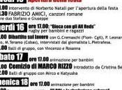 PROGRAMMA della Festa Roma 15/18 luglio