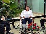 Raúl riunito ministro degli Esteri spagnolo l'Arcivescovo L'Avana