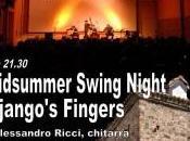 notte all'insegna dell'antiquariato della musica swing