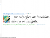 Esce Think quarterly, magazine online business oriented Google
