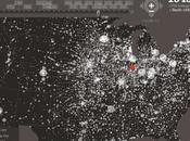 Evoluzione declino) quotidiani negli Usa: mappa interattiva