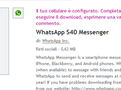 WhatsApp Messenger Store