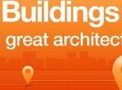 OpenBuildings iPhone Android informazioni opere dell'architettura tutto mondo