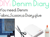 (SCHOOL) DIY: Denim Diary!