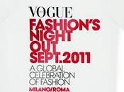 esclusiva t-shirt della vogue fashion's night out.