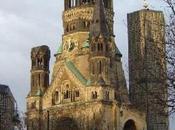 rovine della chiesa Kaiser Guglielmo Berlino
