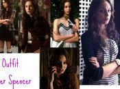 Pretty Little Liars 2×07 Surface Tension: tutti look Spencer