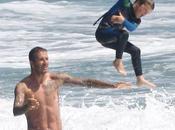 David Beckham: papà tenero dell'estate