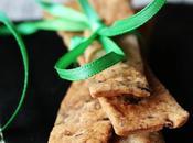 Crackers alla farina segale semi lino