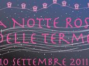PROGRAMMA Notte Rosa alle Terme Abano Montegrotto, settembre 2011