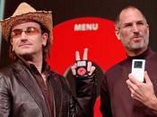 Bono degli complimenta generosità Steve Jobs