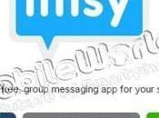 Imsy Social Messenger gratuito Apple, Android Symbian