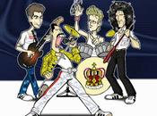 Freddie Mercury anniversario dalla nascita. Canzoni disegni Iannozzi Giuseppe