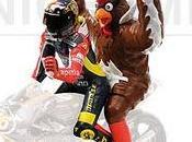 Valentino Rossi Chicken) Barcelona 1998 Minichamps