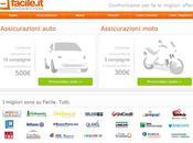 Facile.it: sito mette confronto assicurazioni, mutui conti