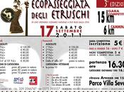 Settembre 2011: alla EcoPasseggiata degli Etruschi vincono Jilali Jamali Maria Chiara Parigi.