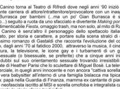 """Tutta colpa Miguel Bosé"" teatro Firenze"