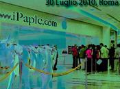 Segui lancio iPhone venerdì Luglio diretta dall'Apple Store Roma iPaple.com