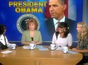 Obama sarà ospite giovedì, prima volta nella storia, talk show mattutino donne