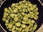 pasta code gamberi, zucchine pomodorini