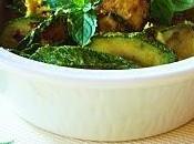 Zucchine limone mentuccia fresca.