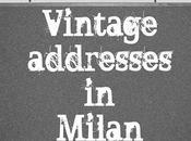 Vintage shopping guide Milan: Cavalli Nastri