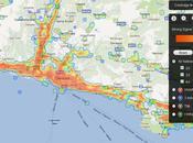 Mappa Mondiale celle copertura segnale campo rete 2G/3G Vodafone, Italia, Wind,