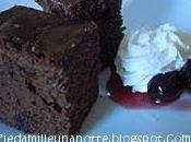 Brownie all'amarena