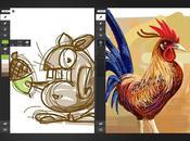 iPad Mania disegno digitale