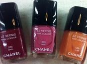 smalti Chanel primavera 2012: April, June