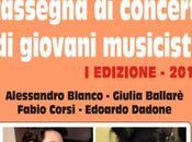 Rassegna concerti giovani musicisti EDIZIONE